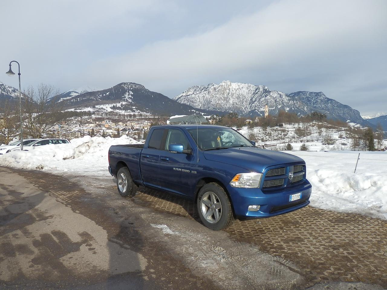 Dodge - RAM 1500 - Km 205700 - Euro 24800 - Autonuova Cavalese - Trento - Belluno Ponte nelle Alpi